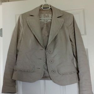 LUISA CERANO short tailored jacket US 4-6